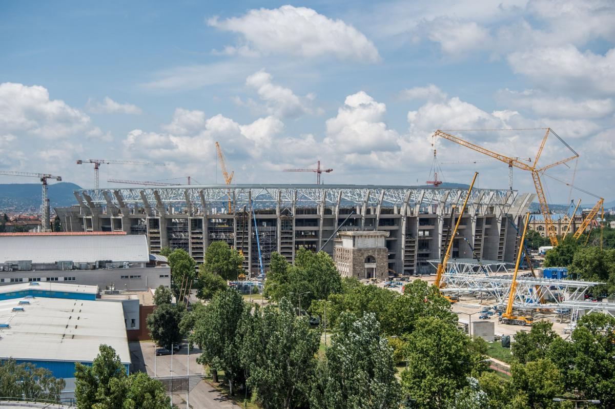 OPH - Megnyílt pénteken az épülő Puskás Ferenc Stadion Látogatóközpontja 476b511ba3